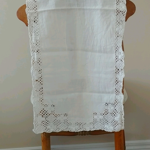 4/$15 Vintage linen cloth - as is